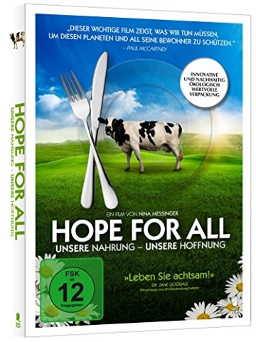 Hope for All. Unsere Nahrung - Unsere Hoffnung (PLASTIC-FREE Verpackung) -
