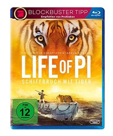 Life of Pi - Schiffbruch mit Tiger [Blu-ray] -