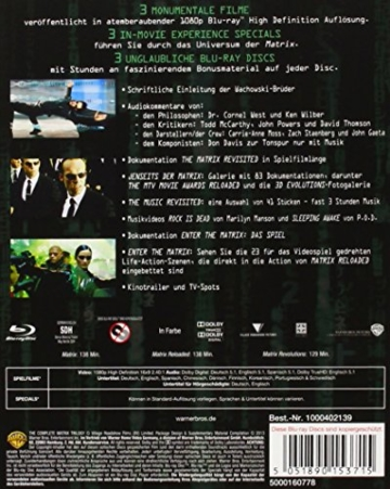 Matrix - The Complete Trilogy [Blu-ray] -
