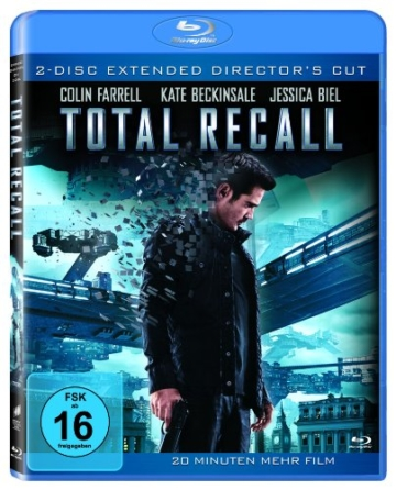 Total Recall (Extended Director's Cut) [Blu-ray] -
