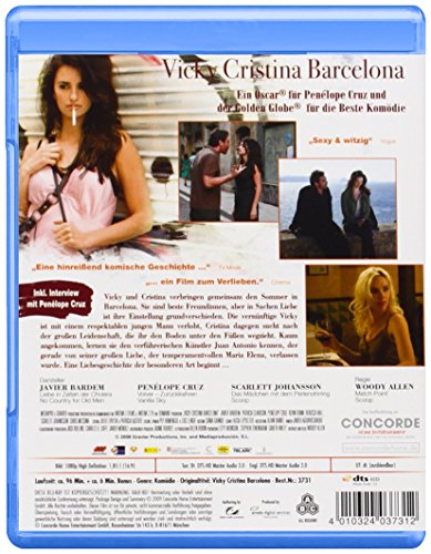 Vicky Cristina Barcelona [Blu-ray] -